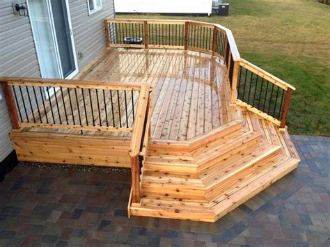 2x6 western cedar decking outside alberni valley alberni