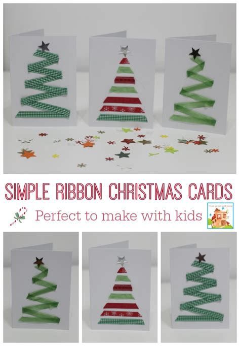 childrens cards to make easy ribbon for to make in the madhouse