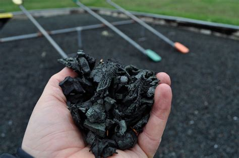 rubber mulch  safe surface   childs playground nbc news