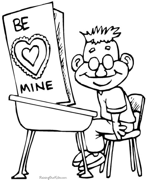 valentine coloring pages kindergarten preschool valentines day coloring pages 017