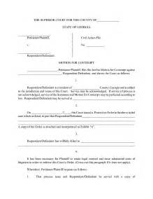 Motion To Dismiss Template by Best Photos Of Format Of Motions Sle Court Motions