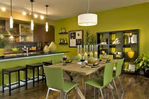 Green Kitchen Dining Room Green Paint Color For Dining Rooms With Kitchen Wall