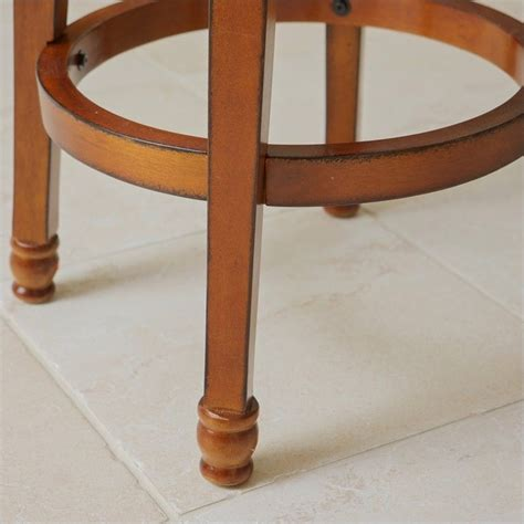 Armed Bar Stools by Trent Home 29 Quot Sunset Armed Bar Stool In Brown 231712cy