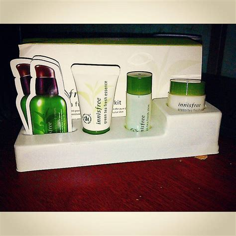 Harga Innisfree Green Tea Fresh Special Kit review innisfree green tea fresh special kit loan trần