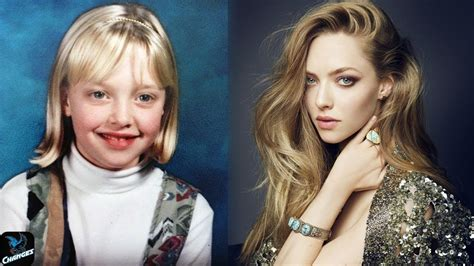 amanda seyfried how old is she amanda seyfried from 2 to 31 years old youtube