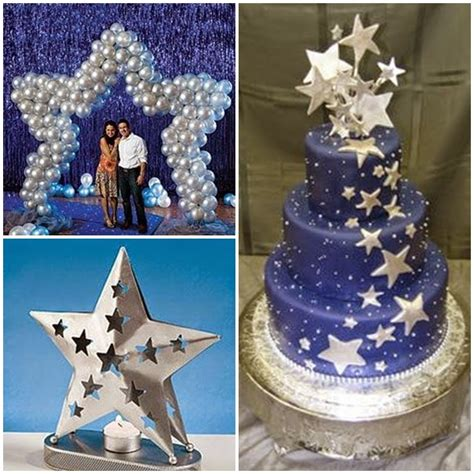 Quinceanera Star Themes | dancing under the stars sweet fifteen theme quince candles