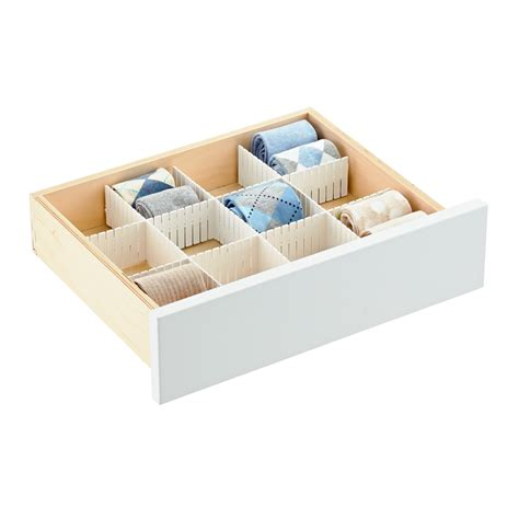 Drawer Dividers For Clothes by Drawer Dividers For Clothes Sock Drawer Organizers The