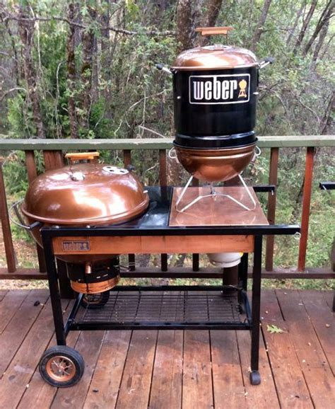 Weber Grill Shelf by Project Quot Bisbee Quot Is A Weber Performer Grill Retrofit With