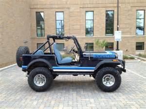 buy used 1981 jeep cj7 renegade factory v8 79k 4spd