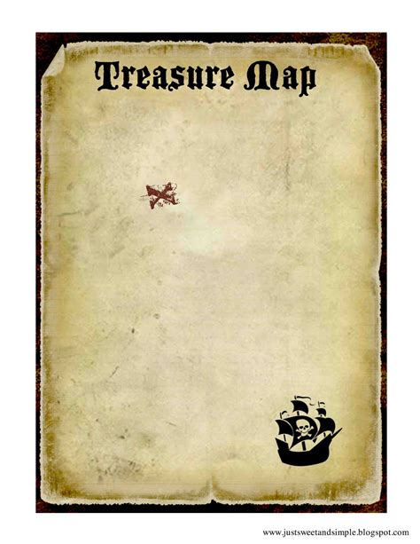 free printable treasure map template video search engine