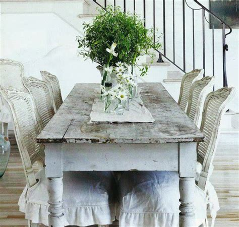 shabby chic dining room table shabby chic dining room white shabby pinterest