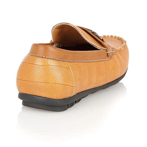 italian leather loafers mens designer leather look italian loafers casual moccasin