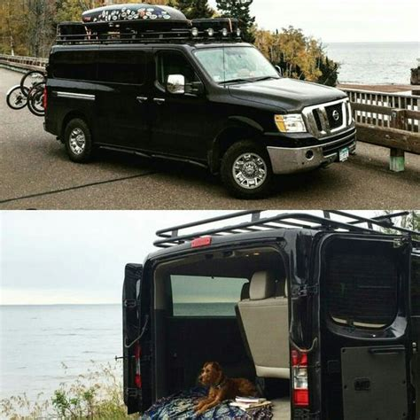 Nissan Nv Roof Rack by Nissan Nv With Aluminess Roof Rack Nissan Nv Aluminum