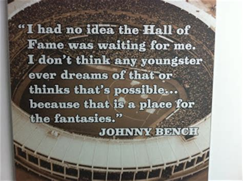how many baseballs could johnny bench hold beauty of everyday life johnny bench at the cincinnati