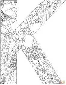 k color the letter k coloring pages az coloring pages