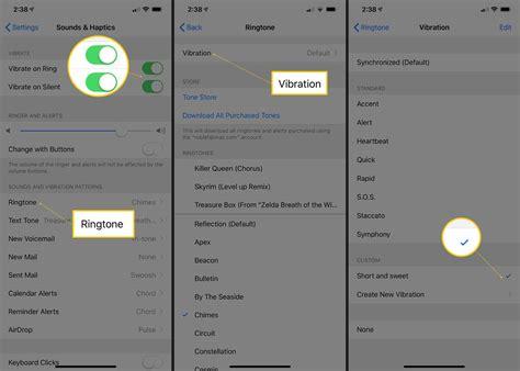 change  default ringtone   iphone