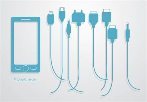 free phone charger phone charger vector free vector stock