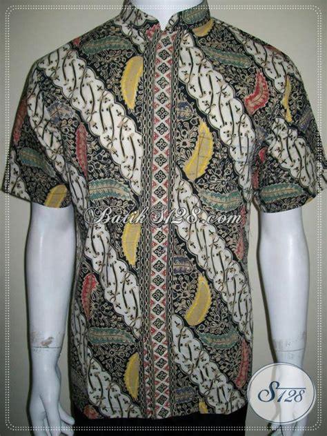 Hem Eksklusif hem batik lebaran kerah koko shanghai eksklusif elegan