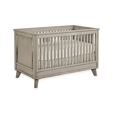 Munire Convertible Crib Munire Wyndham Nursery Furniture Collection In Ash Grey Gt Munire Wyndham 3 In 1 Convertible Crib