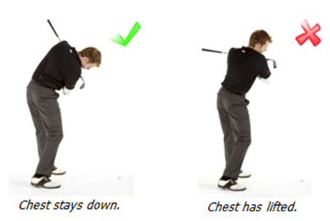 golf swing topping the ball topping the golf ball fault 1 lifting up during the