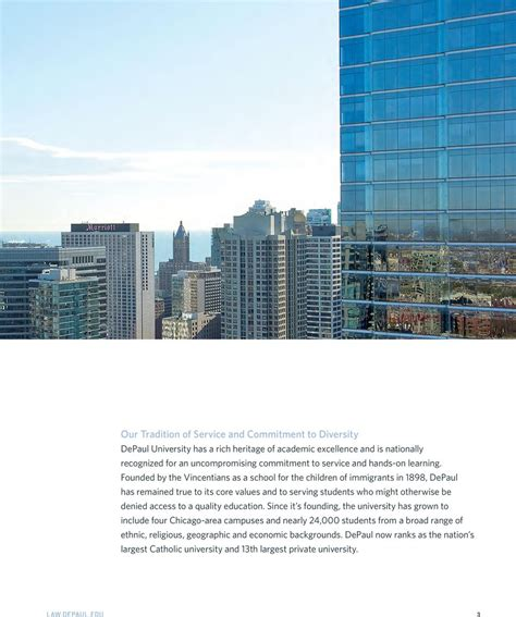 Depaul Mba Jd Program by Xpand Our Erspective Experience Depaul Pdf