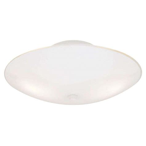 westinghouse 66242 2 light white ceiling light fixture