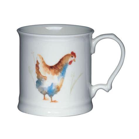 Kitchen Craft Hen House Mugs Hen House New Bone China Mug Mugs Jugs Tea