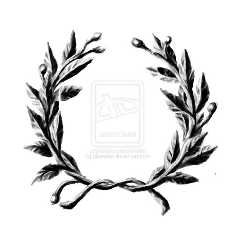 laurel wreath tattoo laurel wreath by hivesotto on deviantart