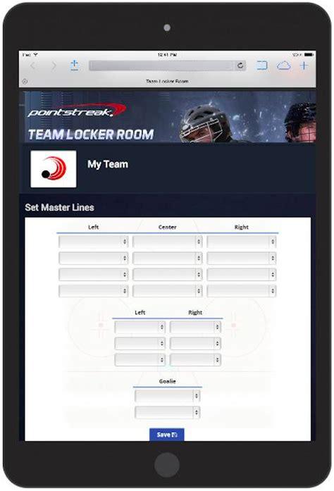 pointstreak locker room team locker room 2 0 pointstreak solutions
