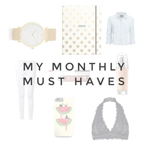 Yumsugars August Must Haves by August Must Haves Teach Me Style A Style And
