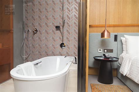 singapore hotel with bathtub oasia downtown hotel singapore club floors offer exclusive facilities 187