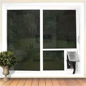 Sliding Screen Door With Dog Door Built In Pet Door Guys Quot In The Glass Quot For Sliding Glass Doors