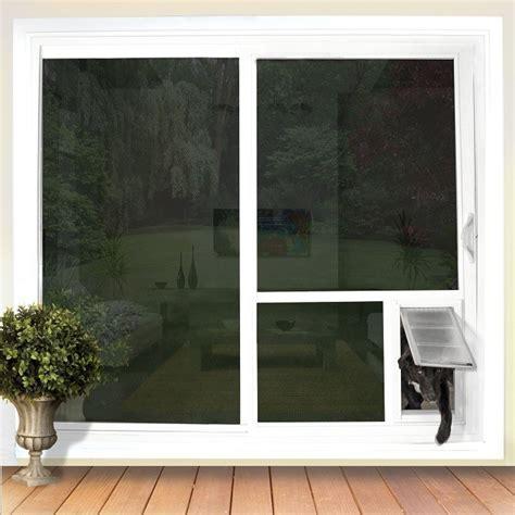 """Pet Door Guys   """"In The Glass""""   For Sliding Glass Doors"""