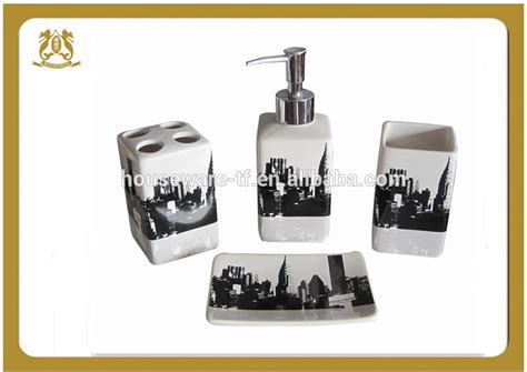 complete bathroom sets cheap new york city ceramic bathroom set with shower curtain and