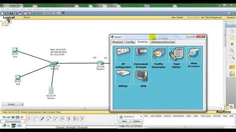 cisco packet tracer dhcp server tutorial cisco packet tracer server dhcp ita youtube