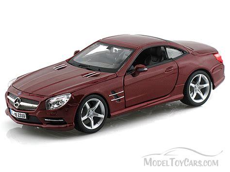 model cars mercedes mercedes sl 500 bburago 21067 1 24 scale
