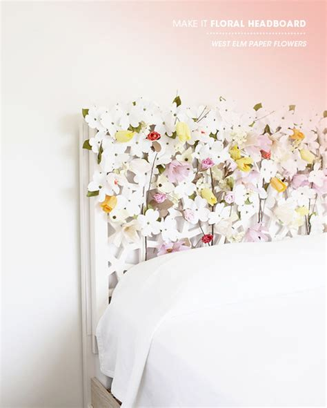 floral headboard 50 outstanding diy headboard ideas to spice up your