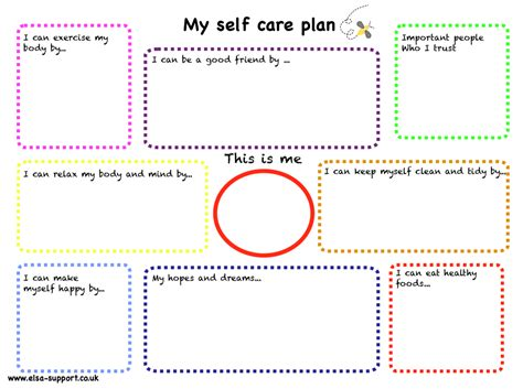 integrated care plan template my self care plan therapy around the world