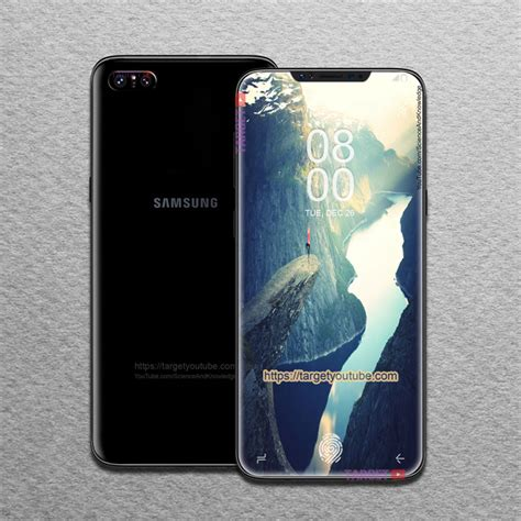 Samsung X8 Samsung Galaxy X8 Flagship Of 2018 Revealed Renders