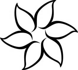 Flowers Drawings Outlines by 25 Best Ideas About Flower Outline On