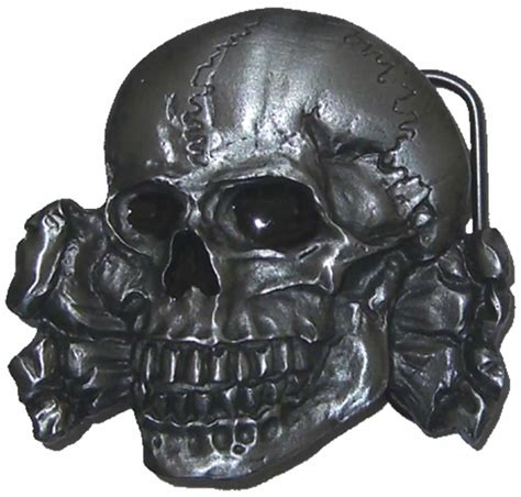 Home Decorative Accessories Uk by Totenkopf Skull And Crossbones Belt Buckle With Display
