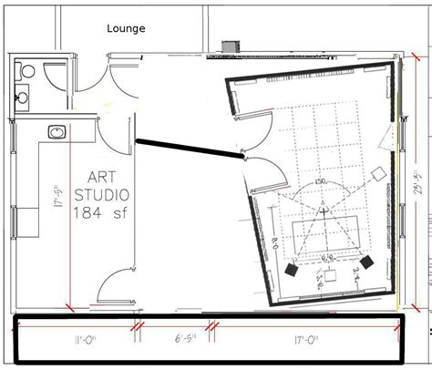 studio plan recording studio floor plans pdf