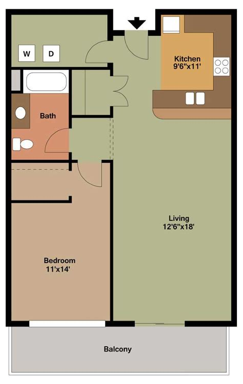 floor plans with pictures 1 bedroom apartment floor plans archives the overlook on