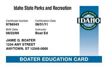 idaho boat license idaho boating license boat safety course boat ed 174