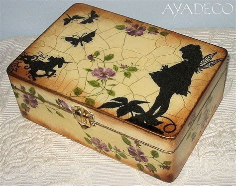 How To Decoupage A Box - box decoupage decoupage