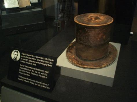 lincoln s hat picture of national museum of american