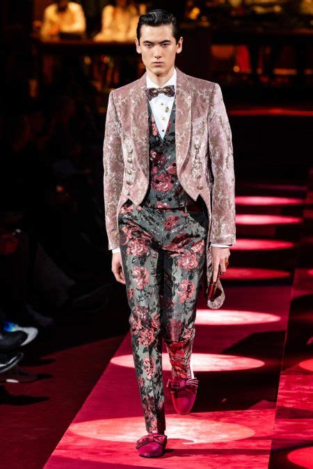 dolce gabbana fall  mens collection  fashionisto