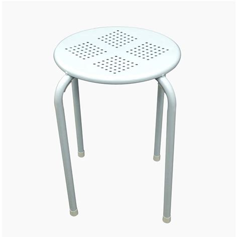 side table stool white set of 2
