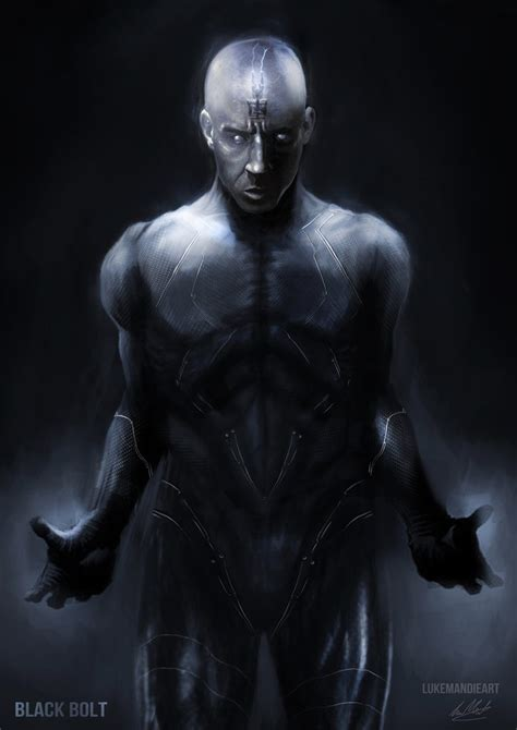 black bolt black bolt by lukemandieart on deviantart