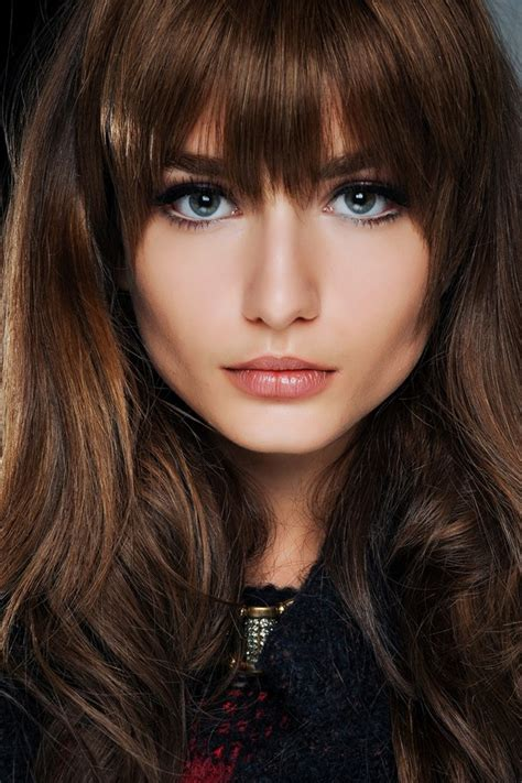 fringe bangs 2013 hair trends winter 2013 hair trends colours pony tails ombre hair